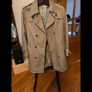 New Pierre Cardin trench jacket size 40R